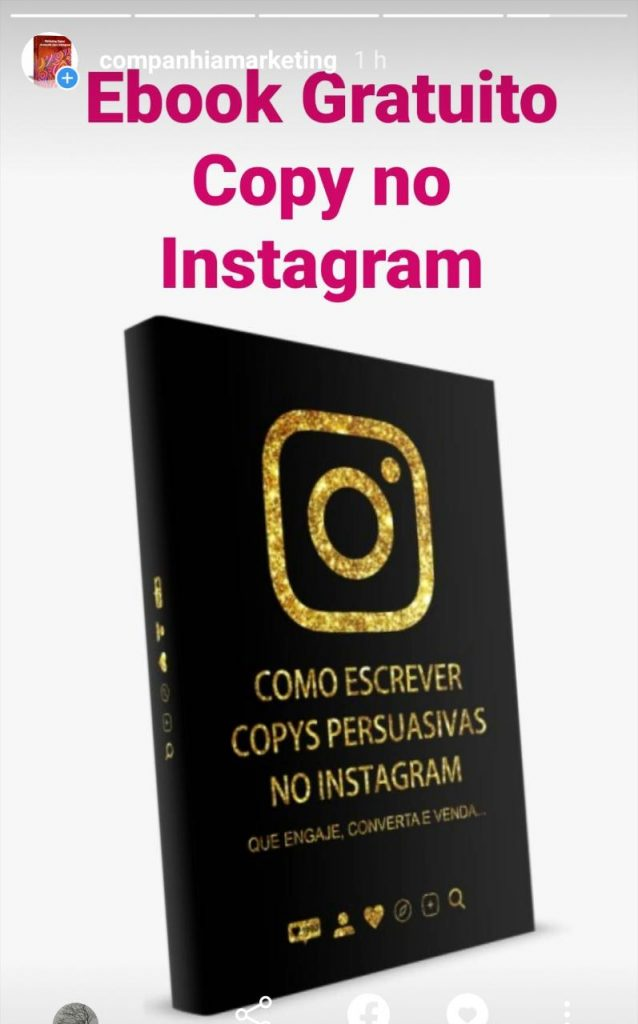 Stories no Instagram